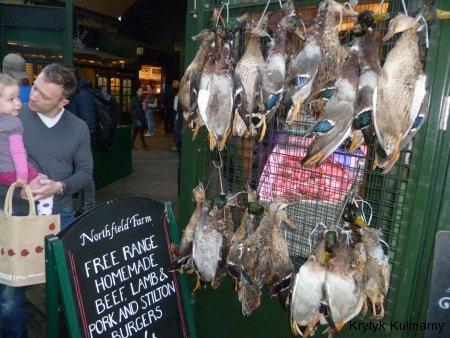 Borough market - dzikie kaczki