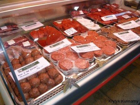 Borough market - mięso mielone