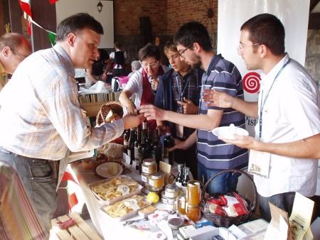 Krytyk Kulinarny Artur Michna w Grucznie (2011)