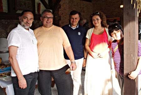 Gruczno 2012 - komisja konkursowa z Krytykiem Kulinarnym Arturem Michną