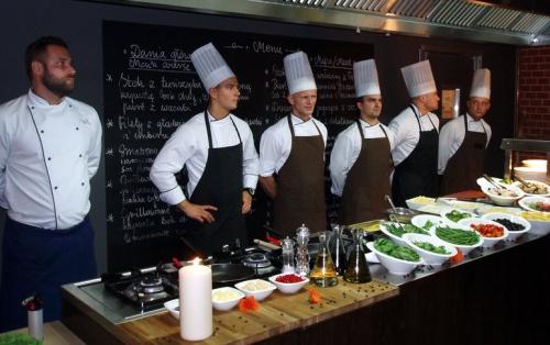 Restauracja Cucinia - zespół kucharzy