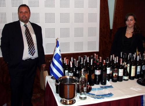 II Sopocki Festiwal Win i Dobrego Smaku - Stoisko z produktami z Grecji