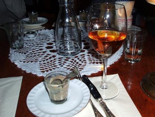 Gęś, Barolo, Szafa - Pasztet i Sauternes