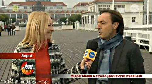 Michel Moran nie oddał fartucha w Dzień dobry TVN
