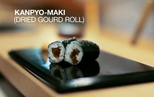 Jiro śni o sushi - kanpyo-maki