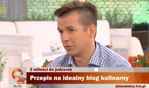 Kultowe blogi kulinarne - Karol Okrasa w DDTVN