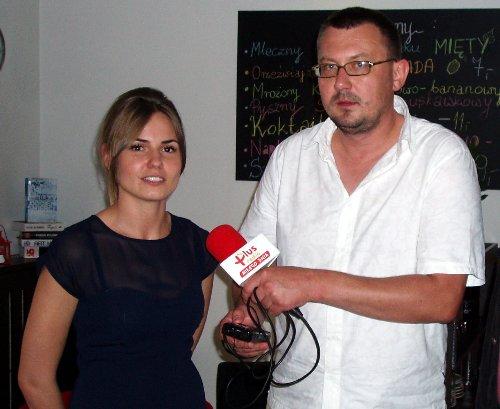 Michal Turek w Cuore di Cafe