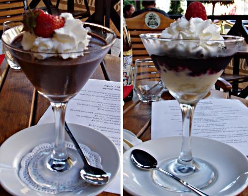 Ustka z brytyjskim akcentem - mus czekoladowy i trifle
