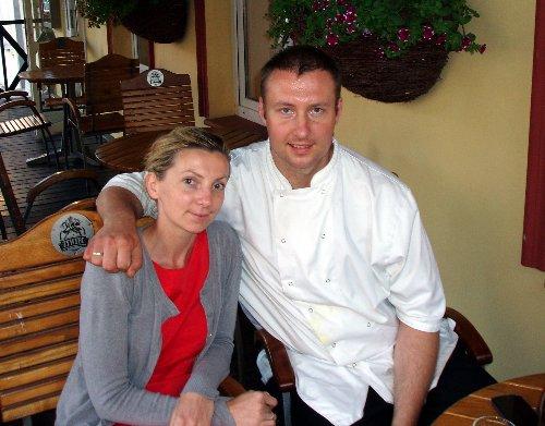 Ustka z brytyjskim akcentem - szef kuchni restauracji Molo z żoną