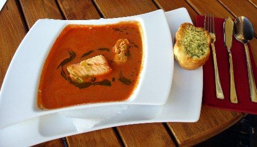 Ustka z brytyjskim akcentem - zupa rybna