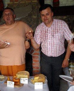 Artur Michna (Krytyk Kulinarny) z Gienem Miętkiewiczem