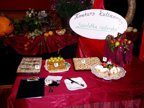 Konkurs kulinarny Szarlotka Cysterska
