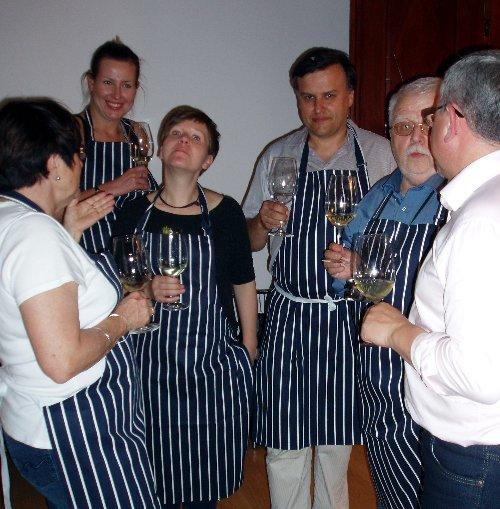 Krytyk Kulinarny Artur Michna po warsztatach