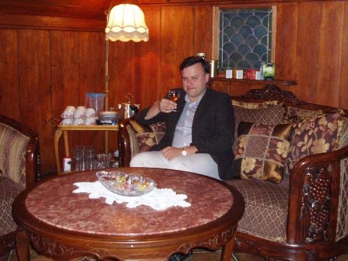Krytyk Kulinarny Artur Michna - w pensjonacie