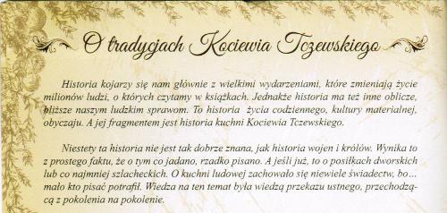 O tradycjach Kociewia Tczewskiego