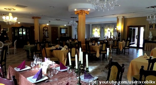 Wnętrze restauracji Matalmara