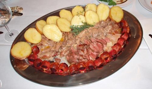 Klub kolacyjny w Chrystkowie - gęsina