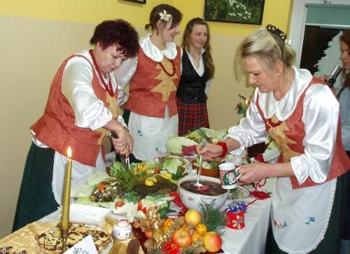 Santa Lucia, przygotowanie kolacji