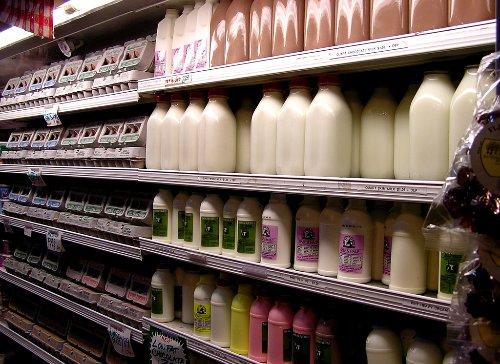 Mleko w markecie