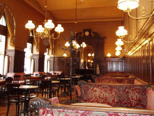 Café Sperl - wnętrze