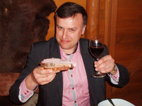 "Krytyk Kulinarny Artur Michna - ""Winnica Pod Orzechem"""