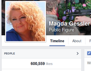 Fani Magdy Gessler na FB (na dzień 6. października 2014)
