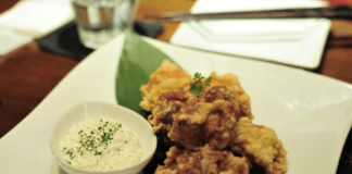 Kurczak z sosem tatarskim / fot. yui iwaki