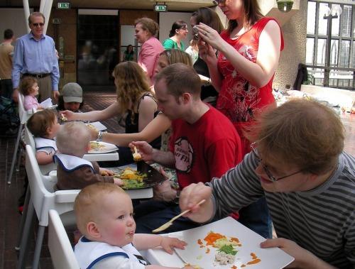 Restauracja ze strefą przyjazną dzieciom /fot. Mike Trinder