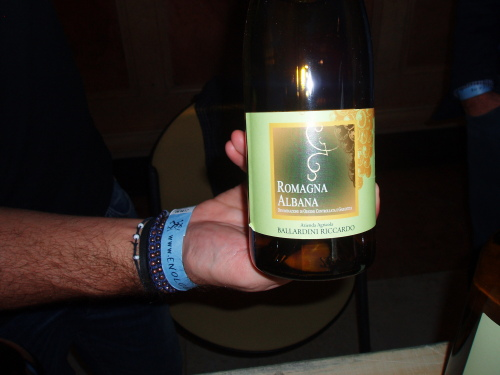"Romagna Albana z Azienda Agricola ""Ballardini Riccardo"""
