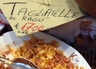 chrisosburn Tagliatelle al ragù, Bologna