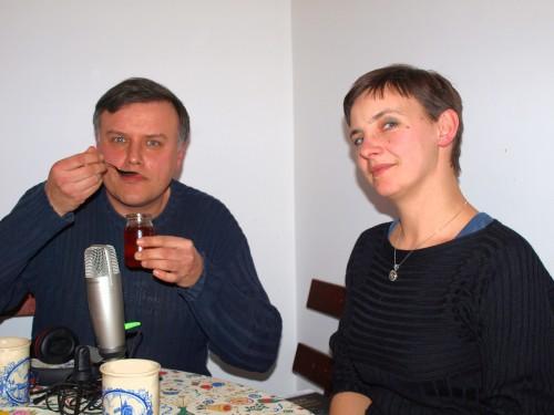 Krytyk kulinarny Artur Michna z dr Aleksandrą Kleśtą-Nawrocką