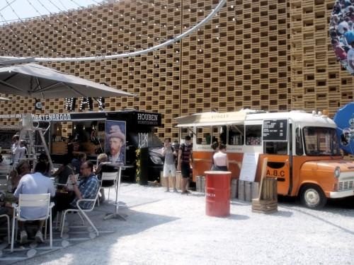 Expo 2015 w Mediolanie, foodtrucki