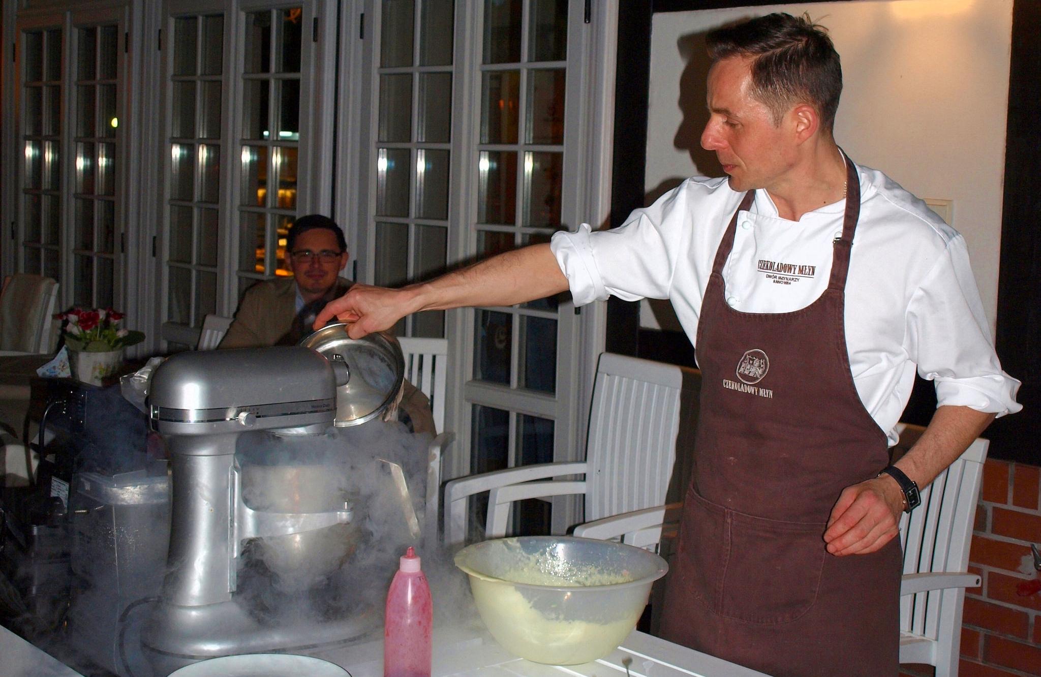 Czekoladowy Młyn - pokaz kulinarny