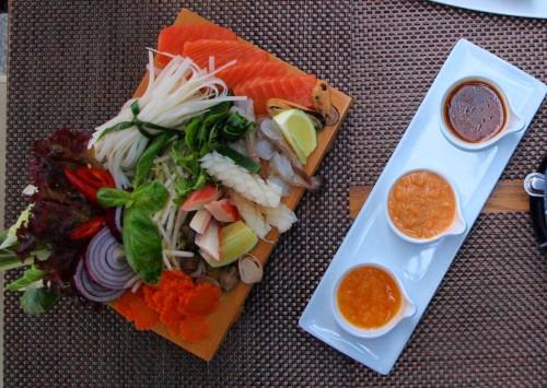 Shabu-shabu w Lao Thai