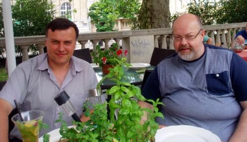 Artur Michna i Juliusz Podolski