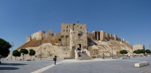 Cytadela w Aleppo, Syria, fot. Memorino, wikipedia