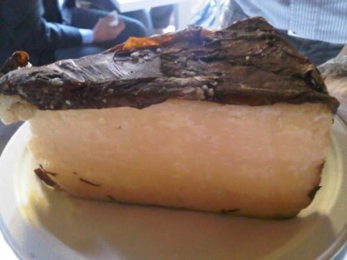 Ser w liściach tytoniu