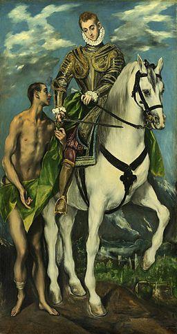 św. Marcin wspominany 11listopada, czy zjadłby rogala z margaryną?