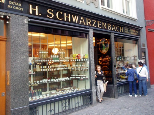 Zurych - sklep kolonialny (Schwarzenbach)