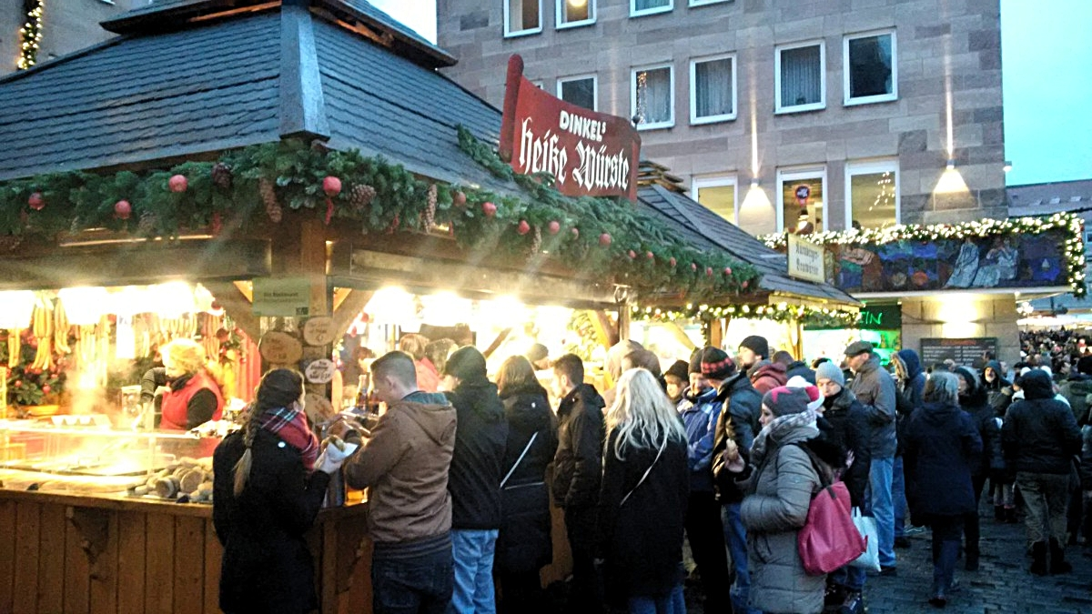 Norymberga Christkindlesmarkt