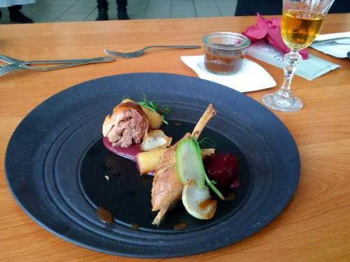 Zwycięzkie danie: kacze udo na dwa sposoby z piernikiem i imbirem Bartłomieja Witkowskiego