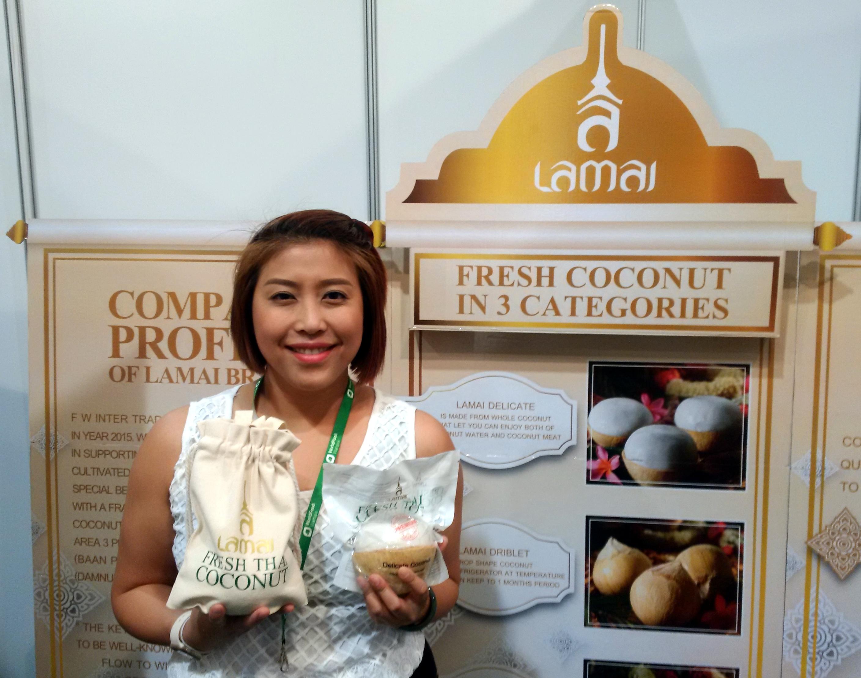 Świeży kokos z Tajlandii