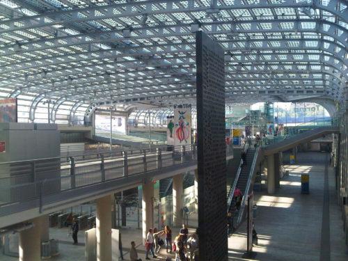 Turyn, dworzec Torino Porta Suza