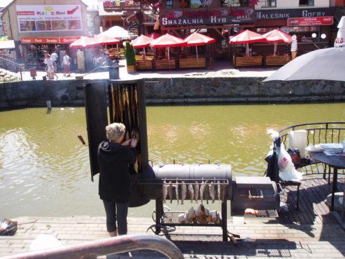 Wędzenie bałtyckich ryb