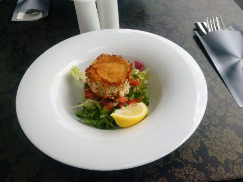 Restauracja 77, fish cake