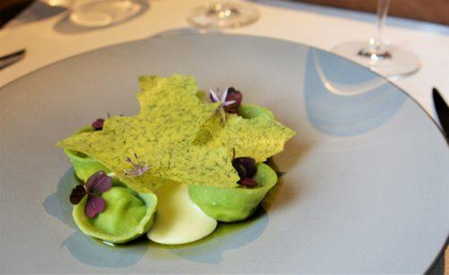Restauracja Mercato - Pierogi, twaróg, ziemniak, szpinak, koperek (fot. G. Niklas)