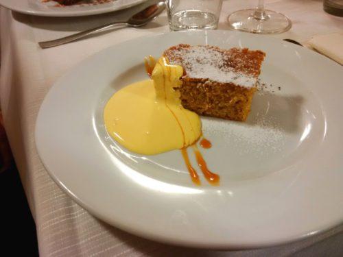 """Tort orzechowy """"Tonda Gentile"""" z zabaione / Cheese 2017, Bra"""