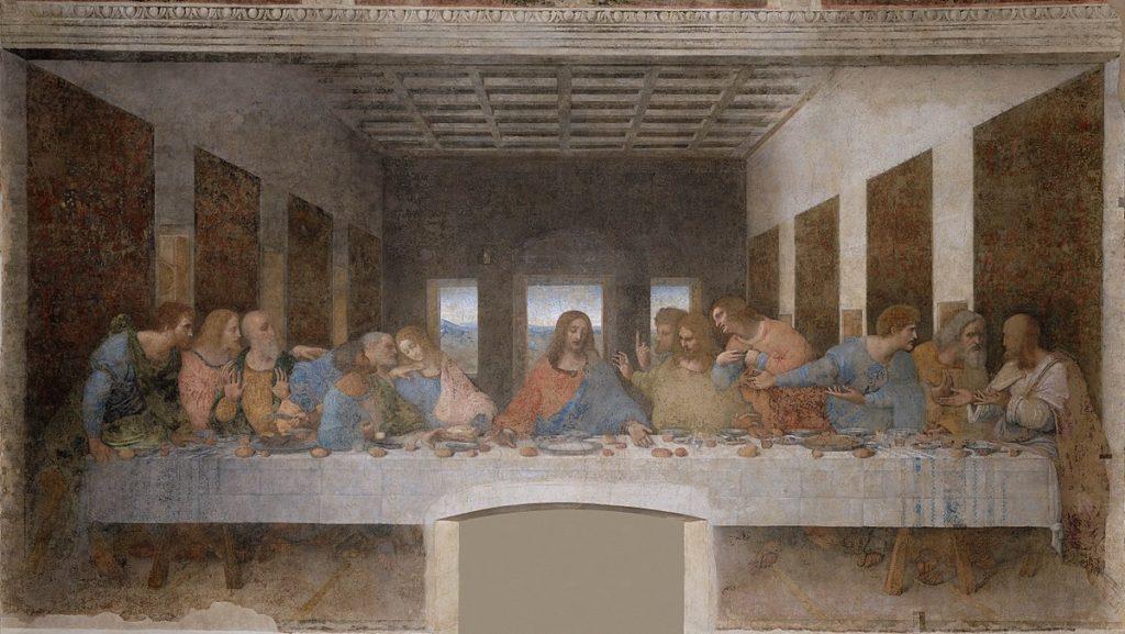 Leonardo Da Vinci - Ostatnia wieczerzea