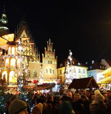 Wrocław, jarmark bożonarodzeniowy, 2018
