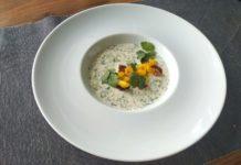 Chłodnik ogórkowy z marynowanym tuńczykiem (1. miejsce)